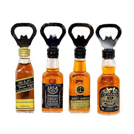 Abridor Modelo Garrafa de Whisky