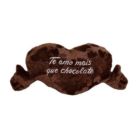 Almofada Coração com Cheiro de Chocolate M