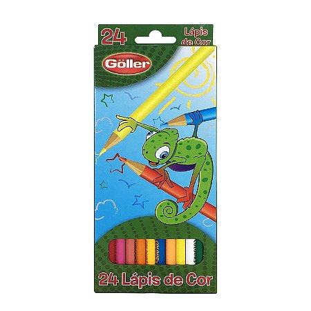 Lápis de Cor 24 Cores - cod. 5850