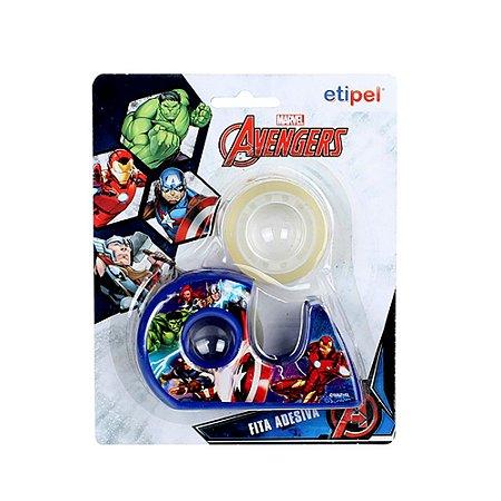 Suporte + Fita Adesiva Avengers