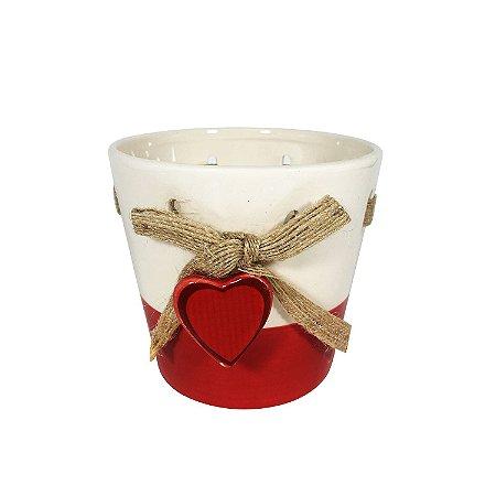 Vaso de Cerâmica Love - cod. BLZY-3414