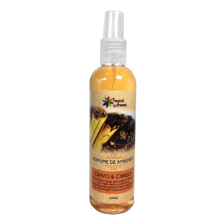 Perfume de Ambiente 240ml - Cravo e Canela