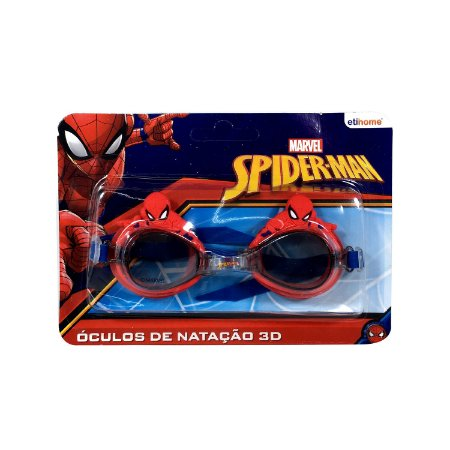 57a36ffd9 Óculos Para Natação 3D Spiderman - Dantas Presentes