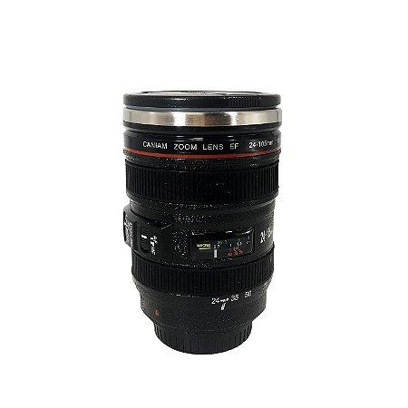 Copo Térmico Lente de Câmera - cod. B170109