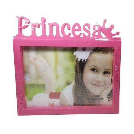 Porta Retrato de Plástico Princesa