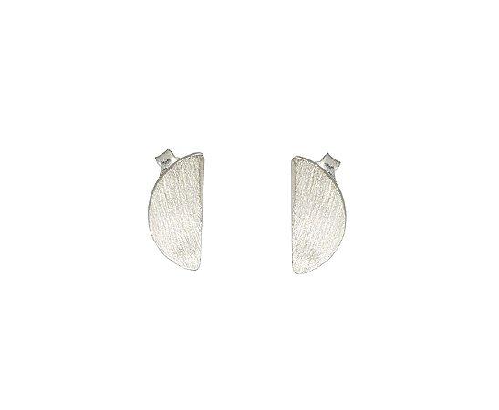 Brinco Proporção Aurea Espiral - Pequeno - Prata 950