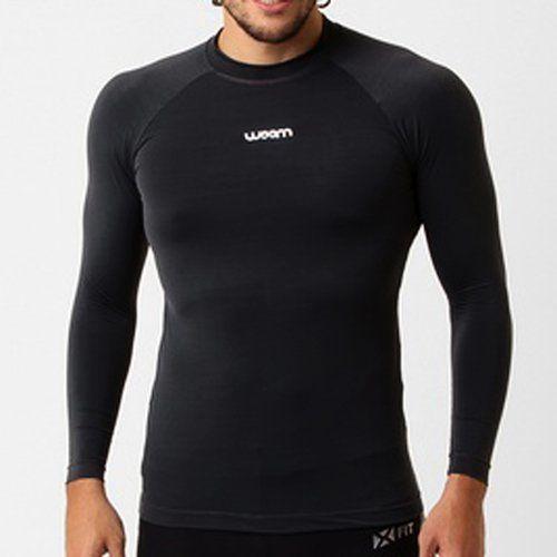 Camisa Segunda Pele X-fit Preta - Gg - Woom