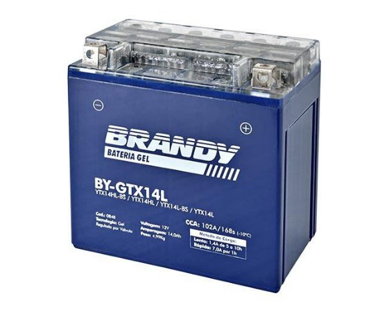 BATERIA GEL BRANDY BY-GTX14L
