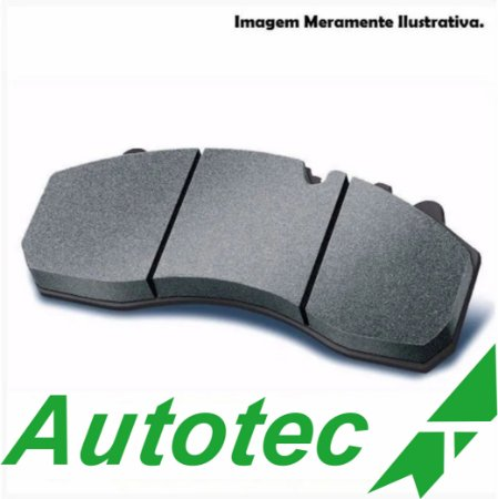 PASTILHA AUTOTEC DIANTEIRA CB300/XRE300/CB600 H.C/ ABS