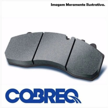 PASTILHA COBREQ TRASEIRA NXR160/CB250