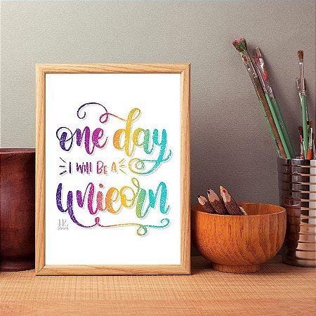 "Poster ""Unicorn"""