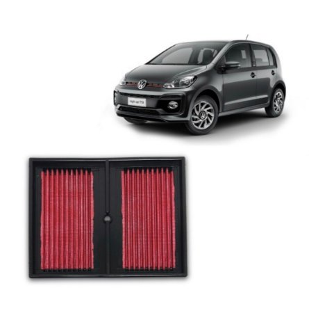 Filtro De Ar Esportivo Inbox Rs Vw Up Tsi 1.0 Turbo + brinde