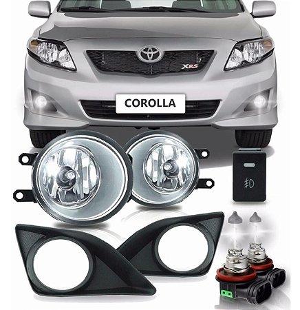 Kit Farol Milha Neblina Corolla 2008-2011