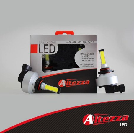 Par Lâmpada Led 6500k Altezza K2ON Original 1 Ano DE Garantia
