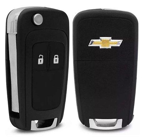 Carcaça Chave GM Adaptação Celta 2 Botões