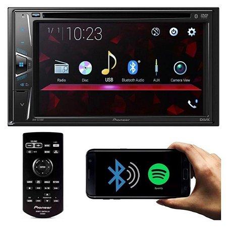 DVD Multimídia Pioneer Avh-g218bt Bluetooth Usb Aux
