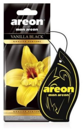 AROMATIZANTE AUTOMOTIVO MON AREON Vanilla Black