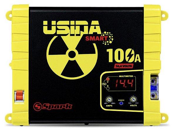 Fonte Usina 100A Bivolt Volt/amperi Smart Charger