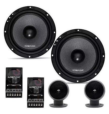 Kit 2 Vias Audiophonic Kc 6.3 CLUB