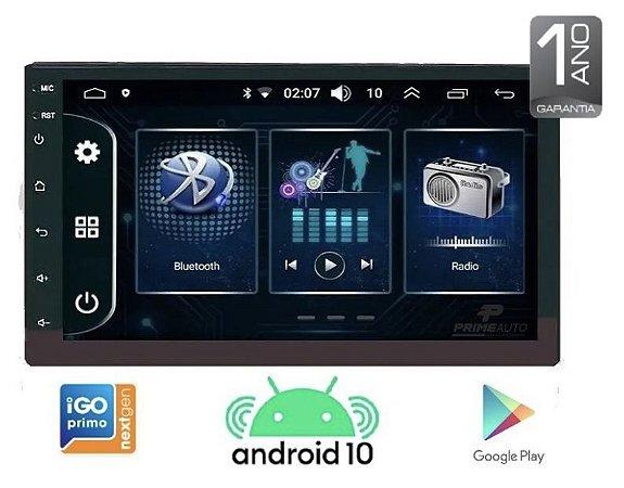 Central Multimídia TAY TECH Android 10 Wi-fi GPS Espelhamento Waze
