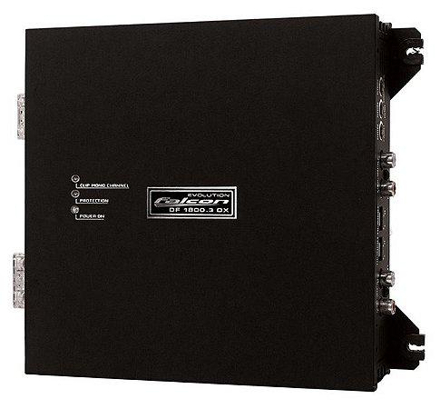 Módulo Amplificador Falcon DF1800.3 DHX 1800w RMS 3 Canais