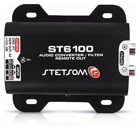Conversor Rca Com Filtro Anti Ruido Stetsom St6100
