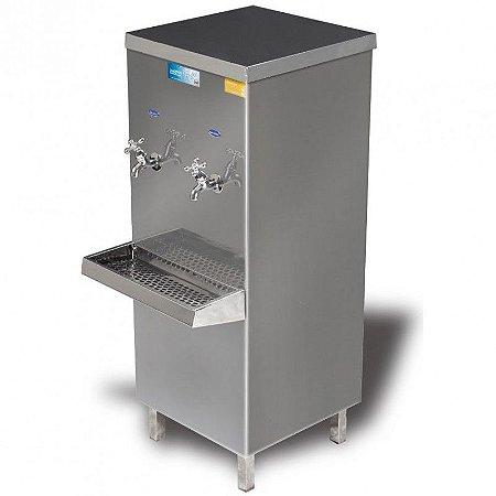 Bebedouro industrial Aço Inox 25 litros com 2 torneiras -  KTN
