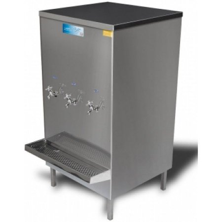 Bebedouro industrial Aço Inox 200 litros com 3 torneiras - KTN