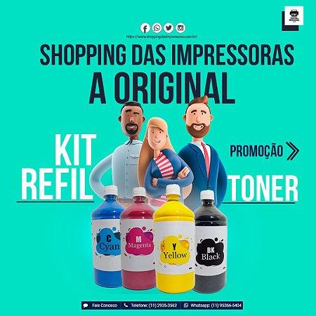 Promoção Kit Refil Toner