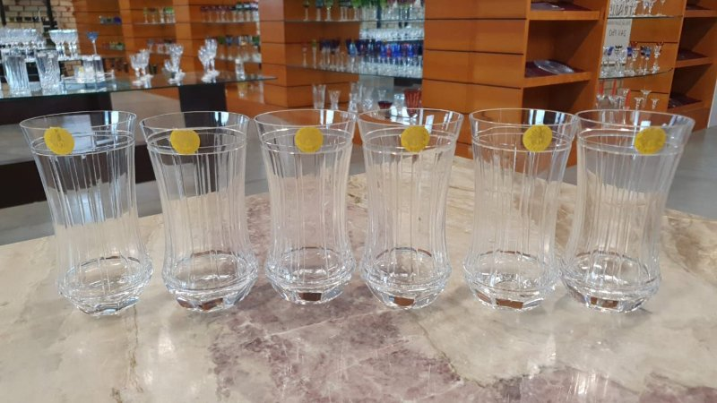 COPO LONG DRINK CRISTAL  STRAUSS -  CX 6 PCS