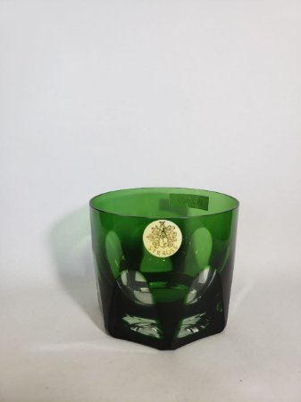 COPO WHISKY CRISTAL STRAUSS - COR VERDE CX 1 PC