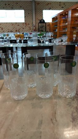COPO LONG DRINK CRISTAL IMPERATTORE BY STRAUSS LAPIDADO - CX 6 PCS