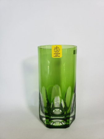 COPO LONG DRINK CRISTAL STRAUSS COR VERDE CLARO CX 1 PC