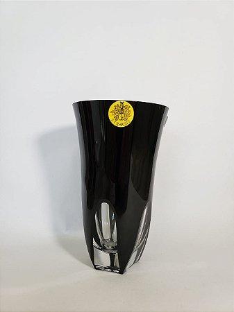 COPO LONG DRINK CRISTAL STRAUSS COR PRETA  CX 1 PC