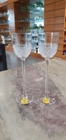 TAÇAS LICOR CRISTAL - STRAUSS - CX 2 PCS