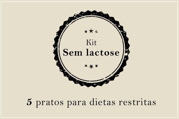 Kit Sem Lactose | Porção Individual