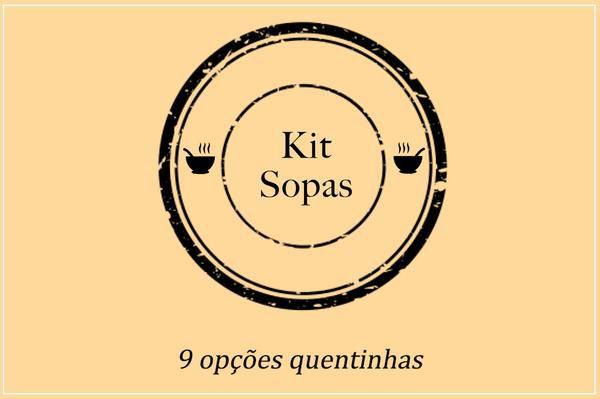 Kit Sopas + Pão Panesse | Porção Individual
