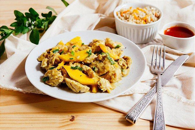 Peito de Frango ao Curry (Light) 300g | Serve duas pessoas