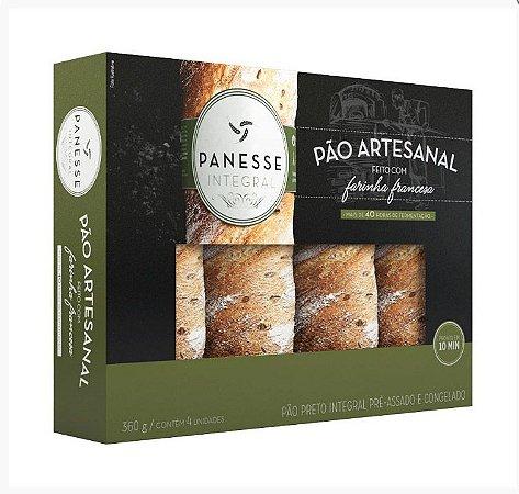 Pão Artesanal Panesse Integral 360g | Contém 4 Unidades