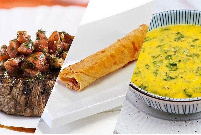 Dieta da Noiva- 14 dias - 968 Kcal (Café da manhã, Lanche, Almoço, Lanche da Tarde e Jantar)