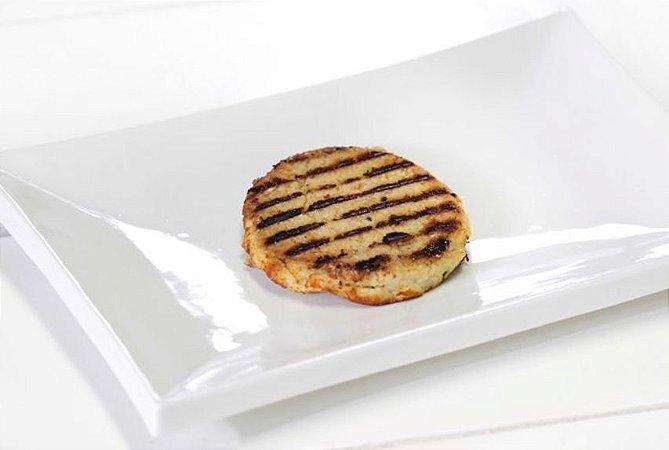 Hambúrguer de Frango 100g | Porção Individual | Produto acondicionado a vácuo