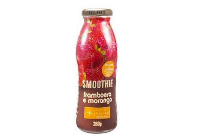 Smoothie de Frutas Framboesa e Morango