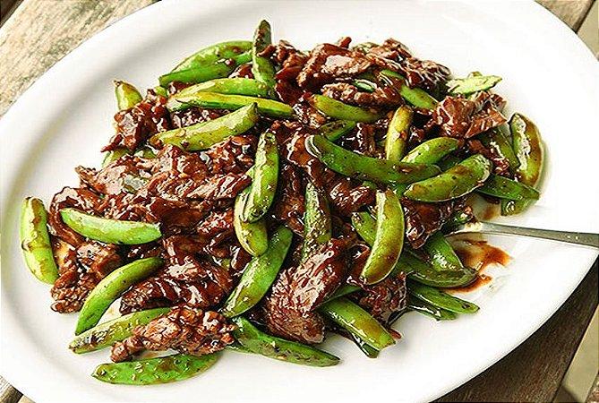 Tiras de Carne à Moda Chinesa 400g | Serve duas pessoas | Produto congelado e acondicionado a vácuo