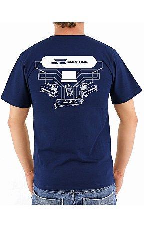 Camiseta Hard Line Surface Custom