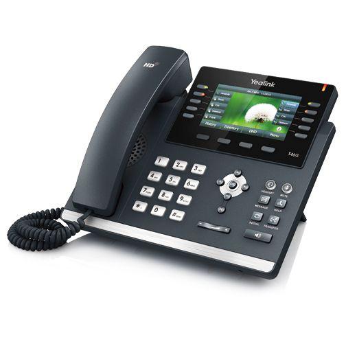 Telefones IP Yealink SIP T46G Microsoft Skype for Business