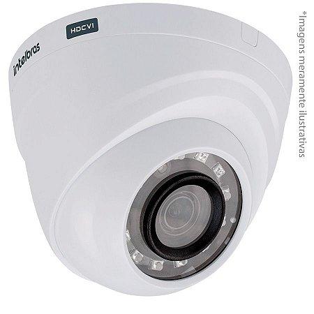 Câmera Infravermelho Dome Multi HD VHD 1010D IR10 Lente 3.6 MM BC G3 - INTELBRAS