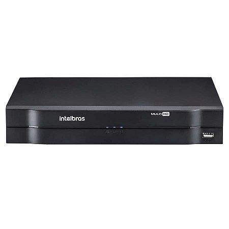 DVR Stand Alone Multi HD Intelbras MHDX-1004 - 4 Canais 1080N HDCVI, HDTVI, AHD, ANALÓGICO + 1 Canal 1080N IP
