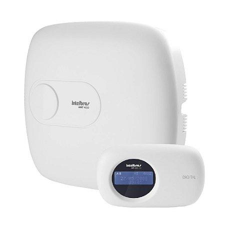Central de Alarme Monitorada até 64 Zonas AMT 4010 Smart - Intelbras