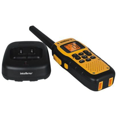 Radio Comunicador Twin Waterproof Amarelo - Intelbras