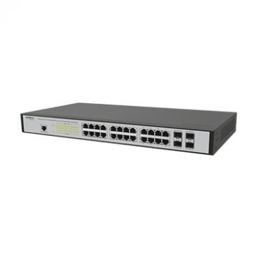 Switch Rack Gerenc 24 Portas P e 4 P Mini GBIC SG 2404MR - Intelbras